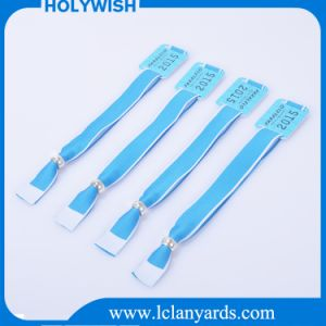 for Event Customized Cloth Nylon One-off RFID Wristband