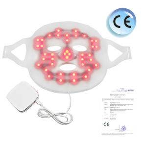 3 Color LED Mask Photon Light Skin Rejuvenation Therapy PDT Beauty Facial Peels Machine Daily Skin Care pictures & photos