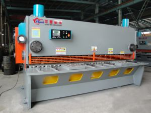 QC11y-12X3200 Hydraulic Guillotine Shearing Machine, Cutting Machine with CNC Controller pictures & photos