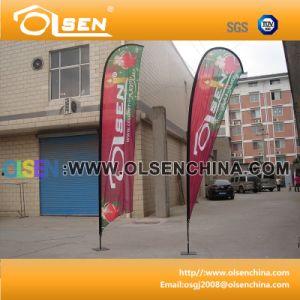 4m Fiberglass Flagpole for Exhibition pictures & photos