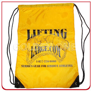Custom High Quality Polyester Drawstring Backpack pictures & photos