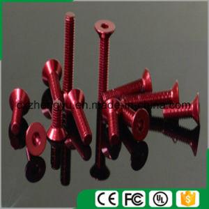 M3 Aluminum Countersunk Head Pan Head Hex Socket Screw pictures & photos