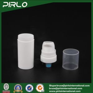 5ml 10ml 15ml Airless Pump White Bottles Cosmetic Lotion Pump Bottle Airless Facial Cream Bottles pictures & photos