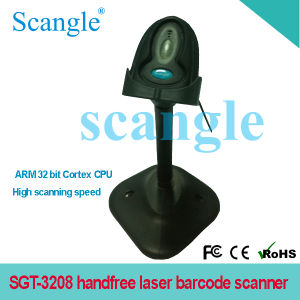 Sgt-3208 Portable Handfree Laser Barcode Scanner with Bracket pictures & photos