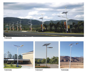 Energy Saving Solar Stree LED Lamp pictures & photos