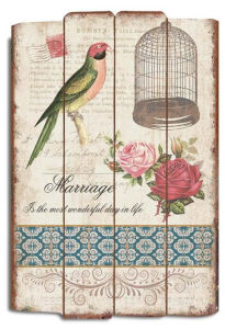 Promotional Use Home Shabby Chic Wooden Craft Shabby Chic Home Decor Sign pictures & photos