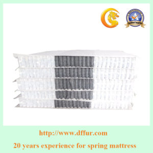 Coil in Coil Pocket Spring Unit for Memory Foam Mattress pictures & photos