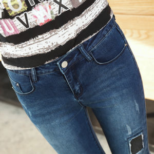 Factory Stock Lady Fashion Legging Denim High Waist Jeans pictures & photos