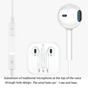 Earphone 6 6splus 3.55mm in-Ear Mobile Phone Headphones Magic Sound Mori for iPhone Earplugs Universalwith Microphone 7 7plus pictures & photos