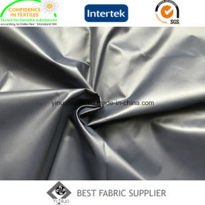 100% Polyester Soft Shiny 300t Cire Taffeta Down Jacket Fabric China Supplier pictures & photos