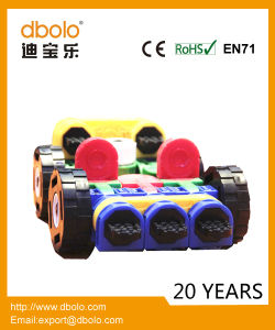 Wholesale New Kids Toy DIY Robot Car ABS Plastic Building Deforme Block Toys pictures & photos