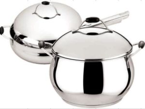 High Quality Stainless Steel 2PCS Non Stick Cookware Set pictures & photos
