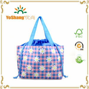Custom Promotional Durable Oxford Polyester Material Drawstring Storage Tote Bag pictures & photos