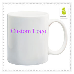 Customized High Quality White Ceramic Coffee Mug pictures & photos