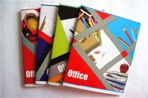 Wholesale Cheap Stationery School Supplies Recycled Paper Notebook pictures & photos