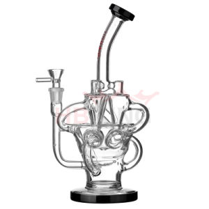 Enjoylife Popular Recycler Perc Hitman Oil Rigs Water Pipe Wtih Factory Price and High Quality pictures & photos