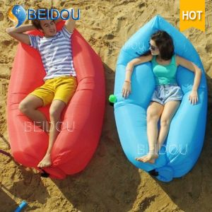 Outdoor Camping Sofa Chair Sleep Bag Inflatable Air Sun Lounger pictures & photos