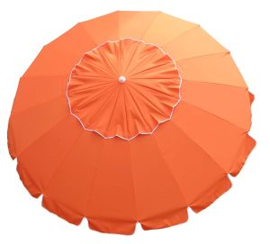 8′ Orange Tilt Beach Market Umbrella pictures & photos