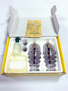 Competitve Priced Vacuum (TCM) Cupping Therapy Pack for Health Care pictures & photos