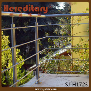 Stainless Steel Cable Railing with Hardrail for Staircase (SJ-S329) pictures & photos