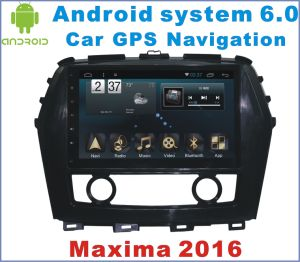 Android 6.0 Car Stereo for Nissan Maxima 2016 with Car DVD Player