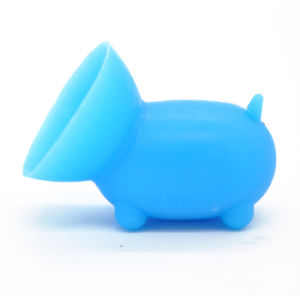 Wholesale OEM Design Pig Shaped Cute Silicone Sucker Phone Holder pictures & photos