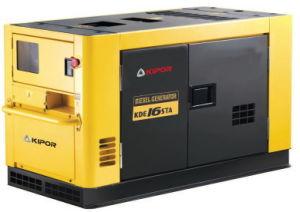 Kipor 14kw Portable Diesel Generator Kde16sta/Sta3 pictures & photos