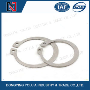 GB894 Stainless Steel Circlips for Shaft pictures & photos