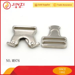 China Supply Metal Webbing Release Adjustable Buckle pictures & photos