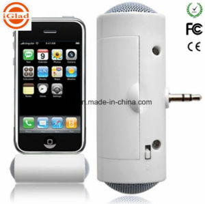 Mini Portable Wireless 3.5mm Plug Mobile Speaker pictures & photos