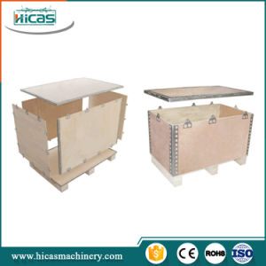 No Nail Foldable Plywood Box Making Machine pictures & photos