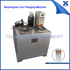 Tin Can Flanging Machine for Square Can Production Line pictures & photos