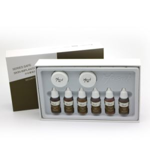 Mastor Pigment Ink Set for Eyebrow pictures & photos