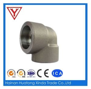 ASTM A105 90 Degree Socket Weld Forged Steel Elbow pictures & photos