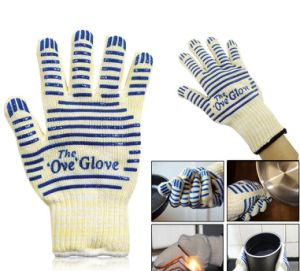 Protective Cooking Tools Bakeware Tricot Microwave Ove Oven Glove pictures & photos