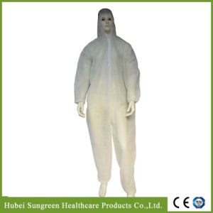 Disposable PP Non-Woven Coverall with Hood pictures & photos
