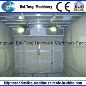 Pressure Sandblasting Sandblast Sand Blasting Room pictures & photos