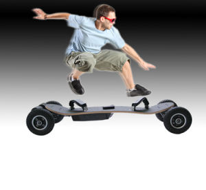 Wholesale Four Wheel off Road Electric Skateboard pictures & photos