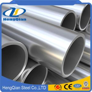 SUS 201 304 316 310S Mirror Polish Seamless Stainless Steel Pipe for Decorative pictures & photos