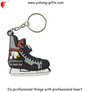 Hot Sell Skating Shoes Shape PVC Key Chain (YH-KC071) pictures & photos