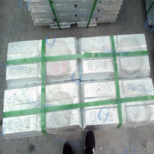 Zinc Ingot 99.995 High Quality Best Price pictures & photos