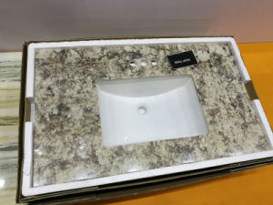 Chinese Modern Bathroom Vanity Unit with Marble Top pictures & photos