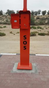 Solar Powered Highway Phone, Campus Help Point, Roadside Emergency Phones pictures & photos