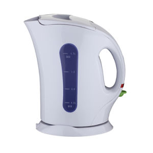 Hot Sell Plastic Electric Kettle with High Quality 1.7L Capacity pictures & photos