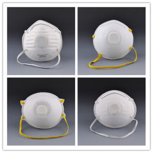 New Designed Disposable Non-Woven Dust Mask with Valve for Spray pictures & photos