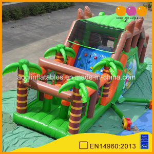 Crocodile Inflatable Barrier Inflatable Floating Obstacle Course (AQ14220) pictures & photos