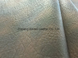 Customized Color Rexine Synthetic PU PVC Handbag Shoe Sofa Leather pictures & photos
