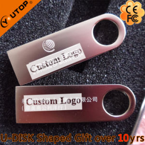 Metal Keyring USB Flash Drive for Company Gifts (YT-3295) pictures & photos