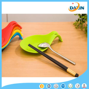 Food Grade Silicone Spoon Holder Spoon Pad pictures & photos