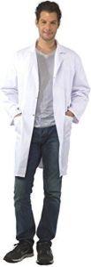 Wholesale Unisex White Polycotton Lab Coat (A618) pictures & photos